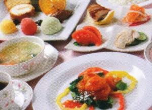 コース料理 Chiniese