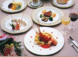 テーブルマナー料理